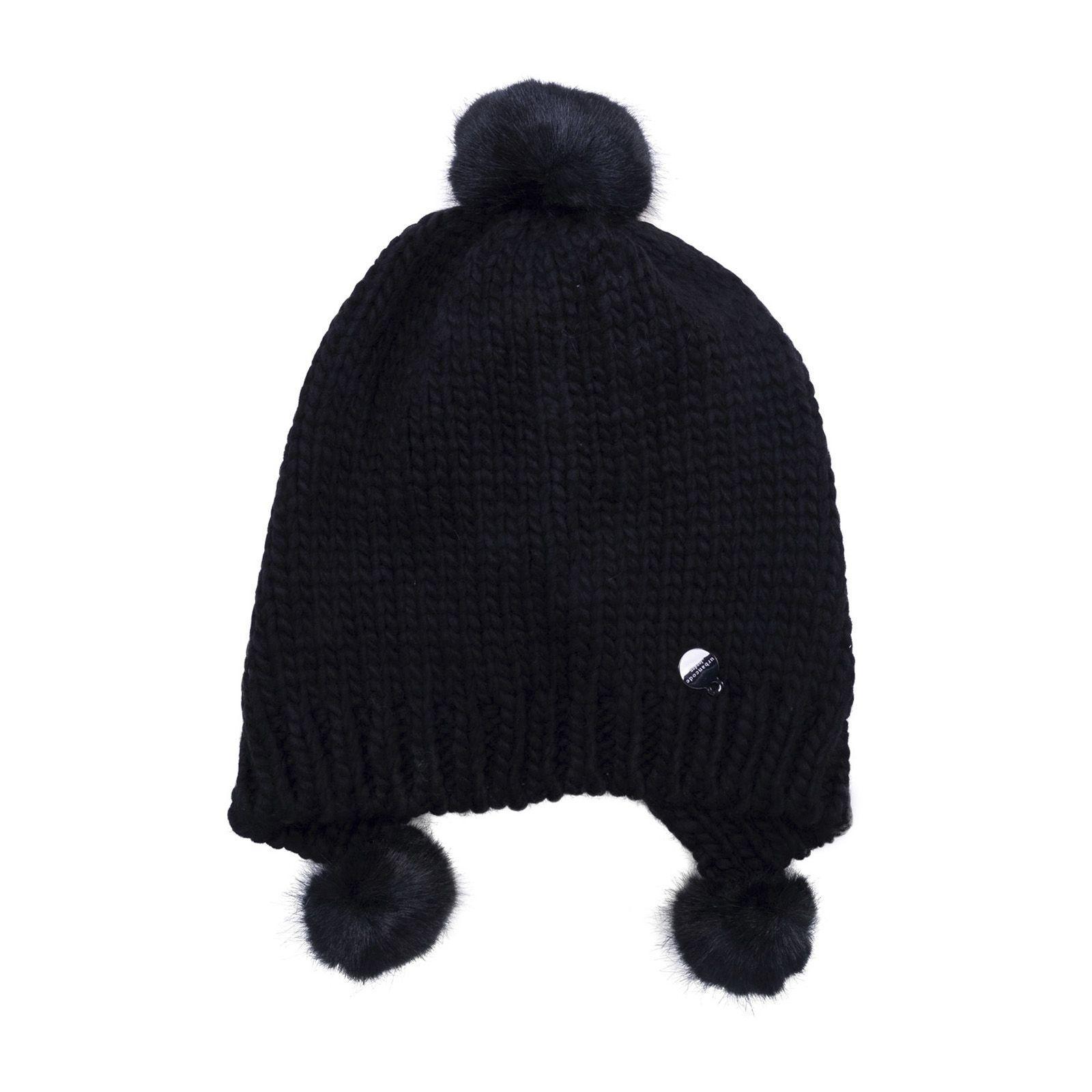 Urbancode Pompom Hat In Black