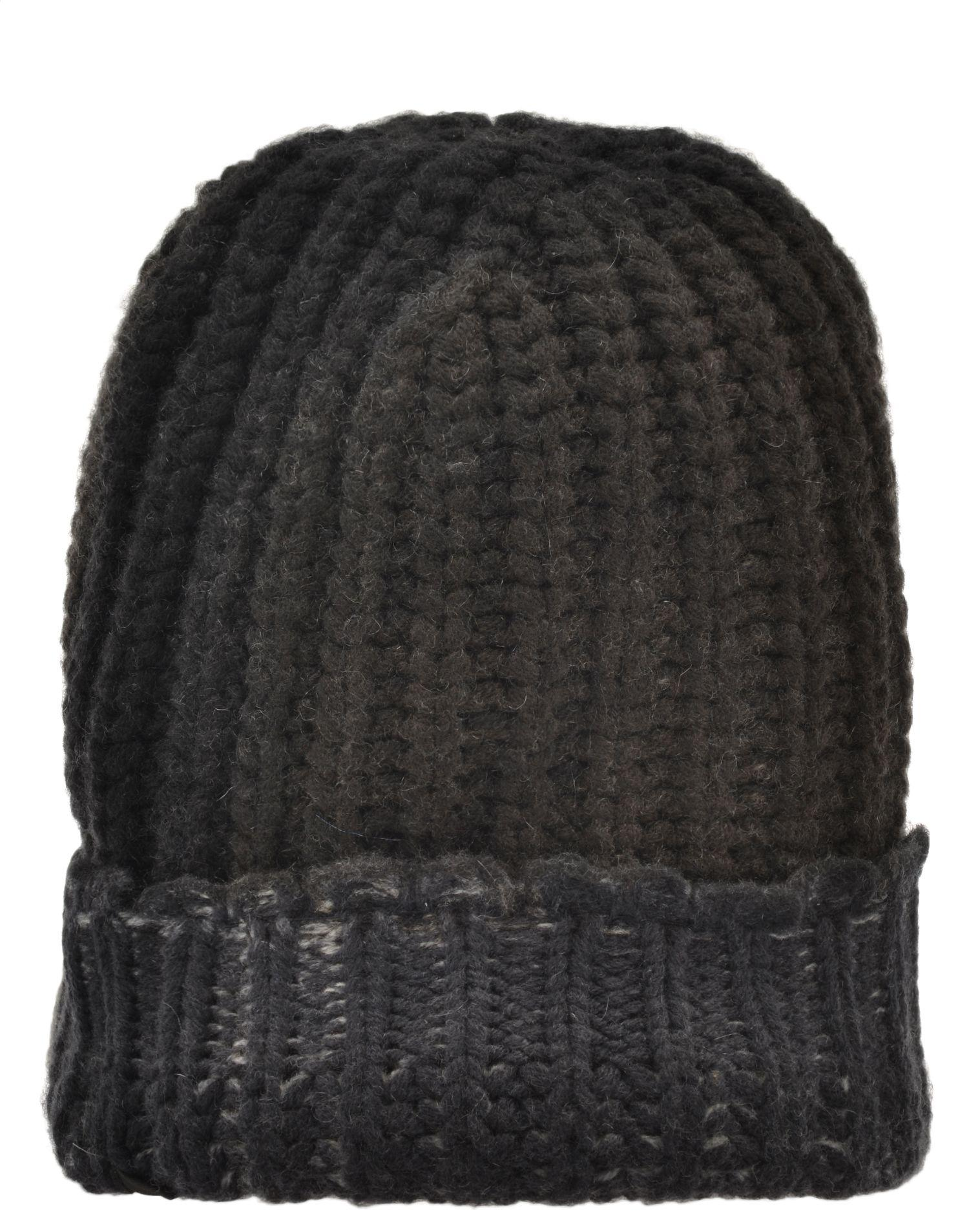 Avant Toi Wool And Cashmere Bini Hat In Black