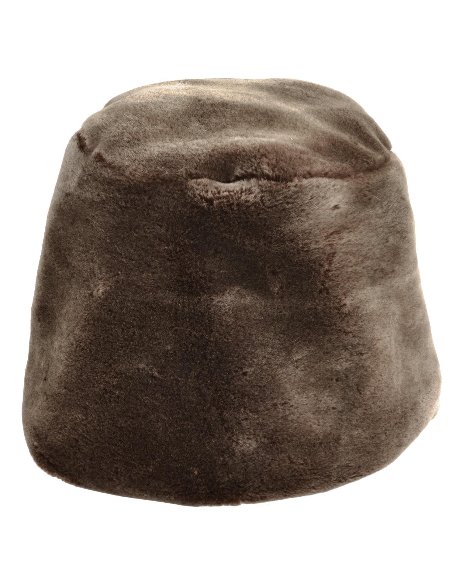 Reinhard Plank Ecologic Fur Hat In Brown