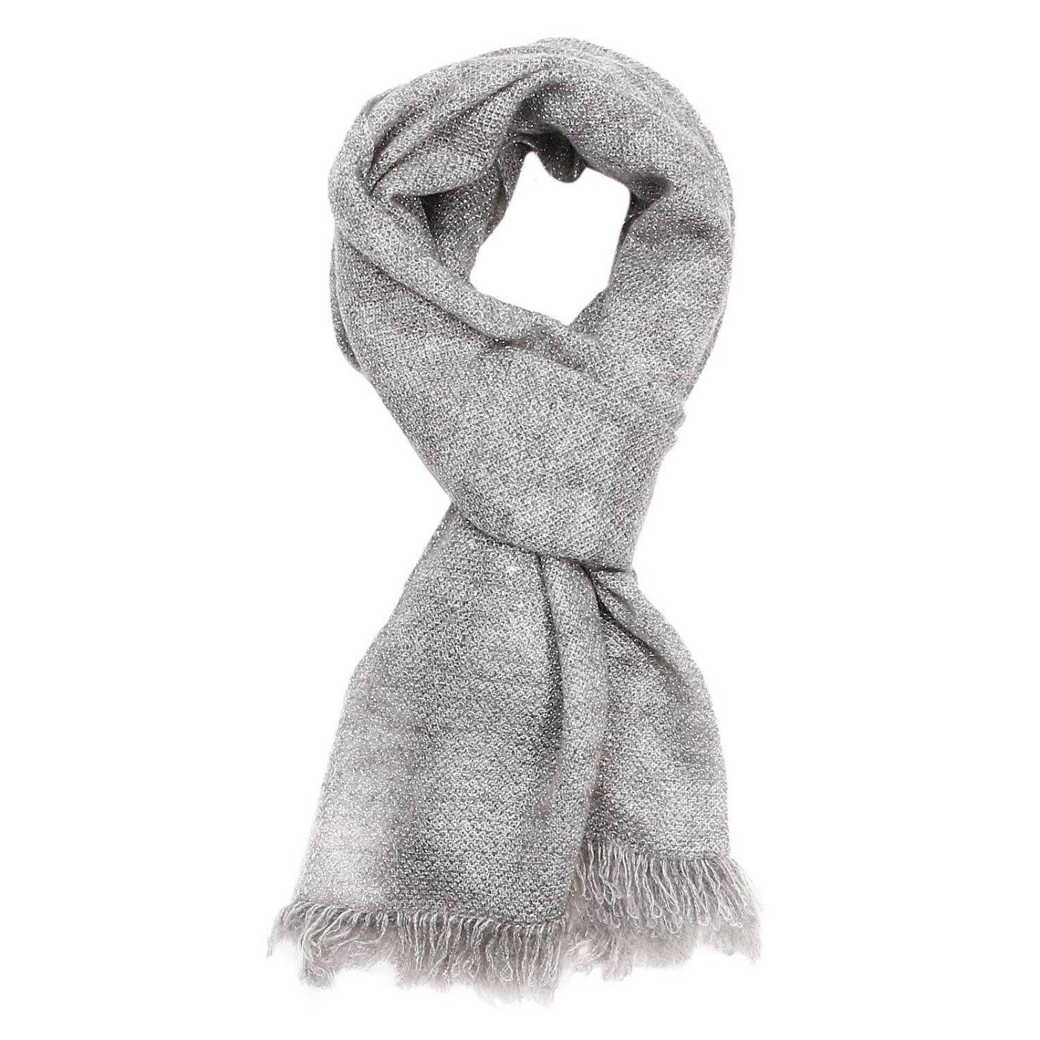 D.exterior Scarf Scarf Women  In Silver