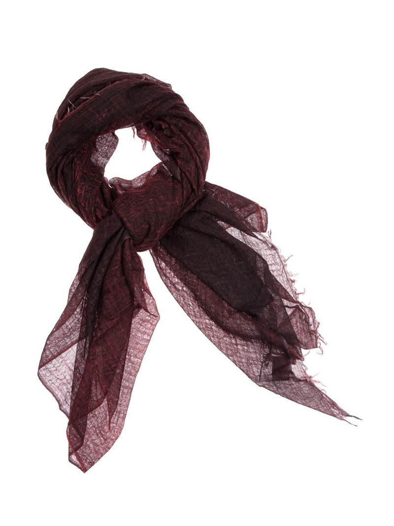 Avant Toi - Cachemire Scarf In Red