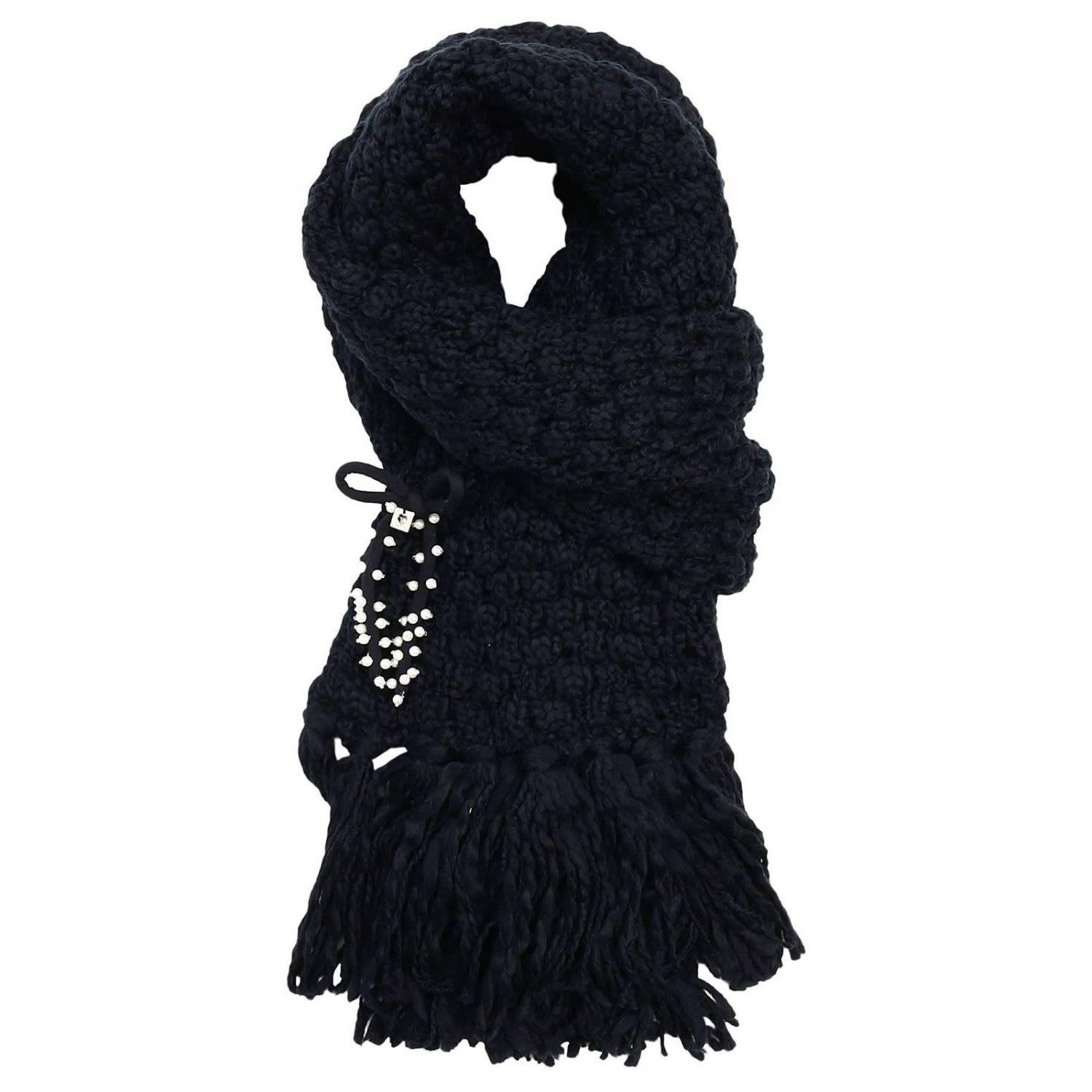 Twinset Scarf Scarf Women Twin Set In Black
