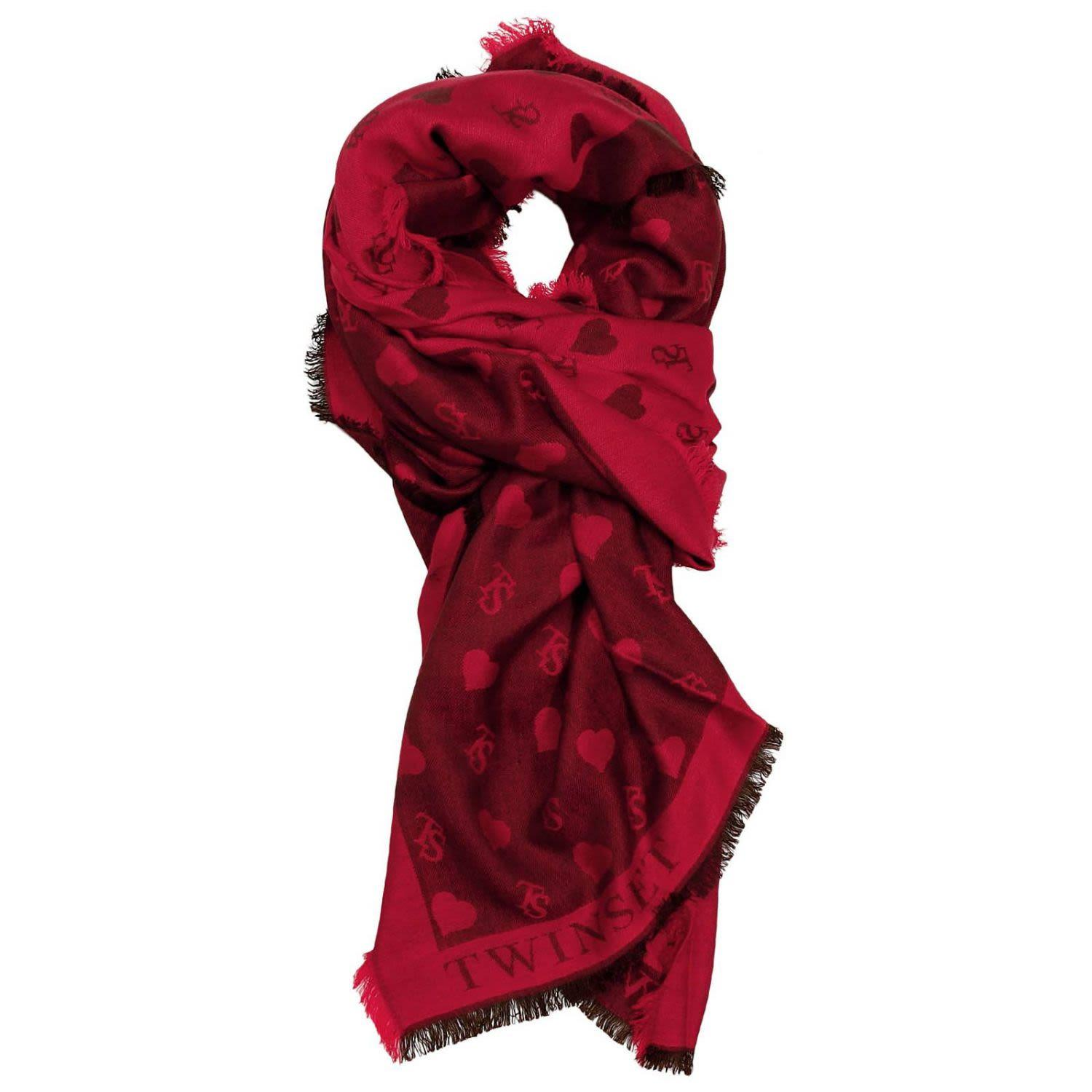 Twinset Scarf Scarf Women Twin Set In Red