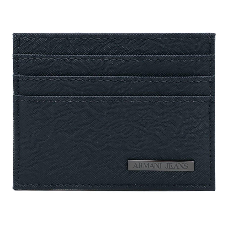 Armani Jeans Wallet Wallet Men  In Blue