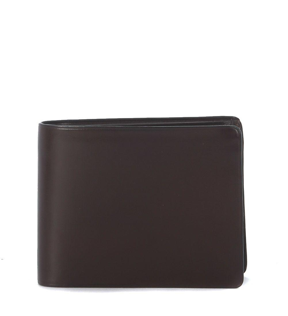 Il Bussetto Brown Leather Wallet In Marrone
