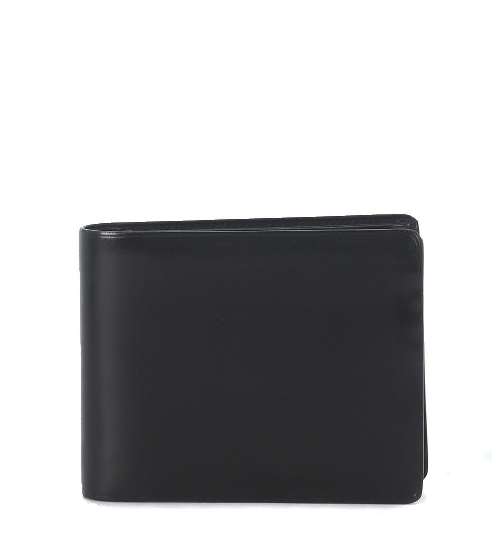 Il Bussetto Black Tuscan Leather Wallet In Nero