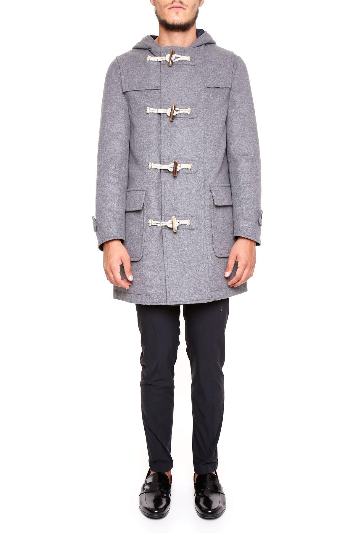Rvr Lardini H321 Blue And Grey Sneaker In Leather And Technical Fabric In Grigiogrigio