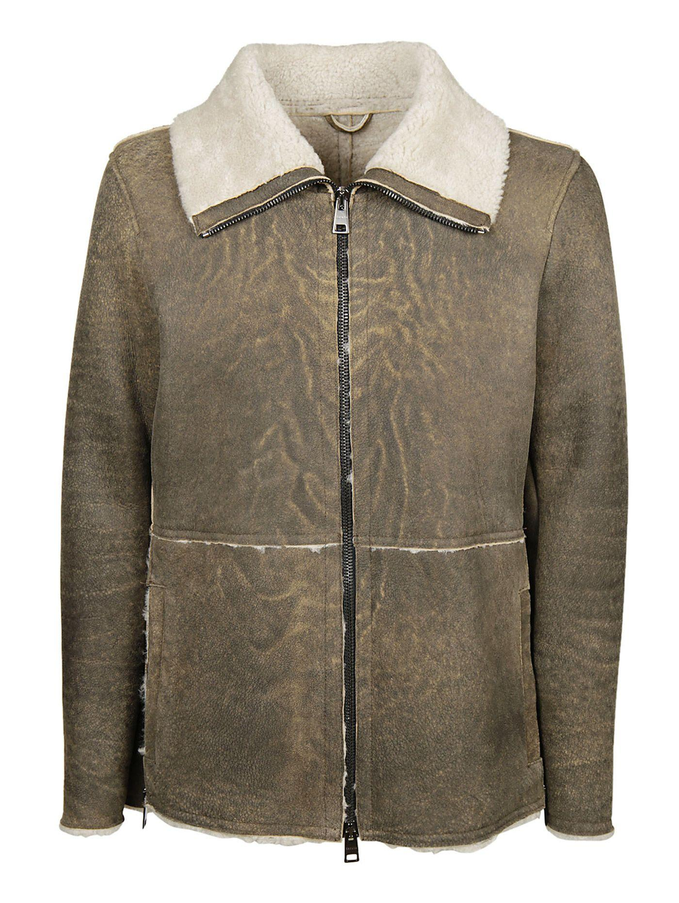 Dacute Classic Jacket In Beige