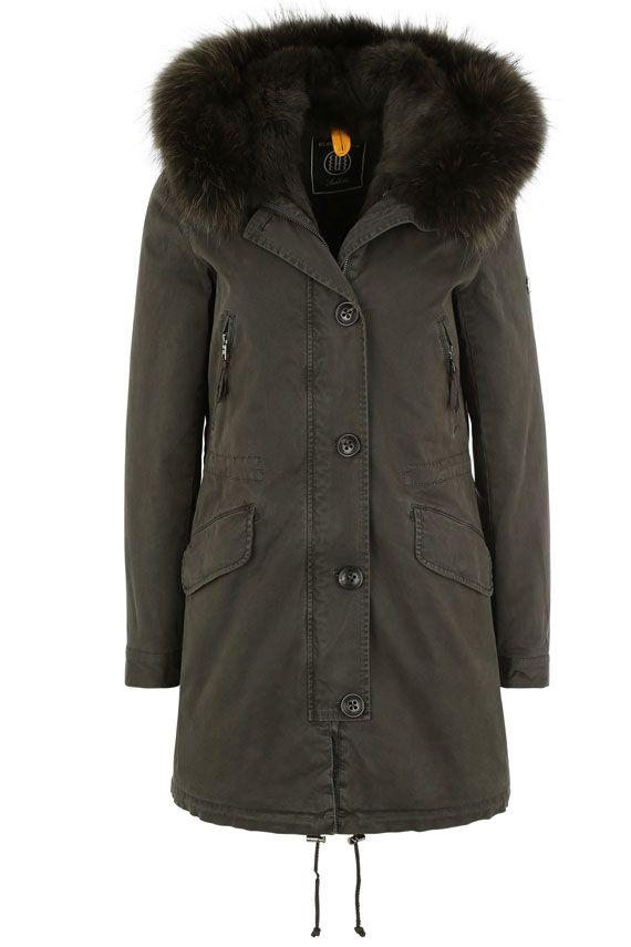Blonde No.8 Parka Aspen 515 Limited Edition In Green