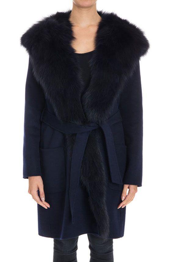 Parosh Loverix Coat In Blue