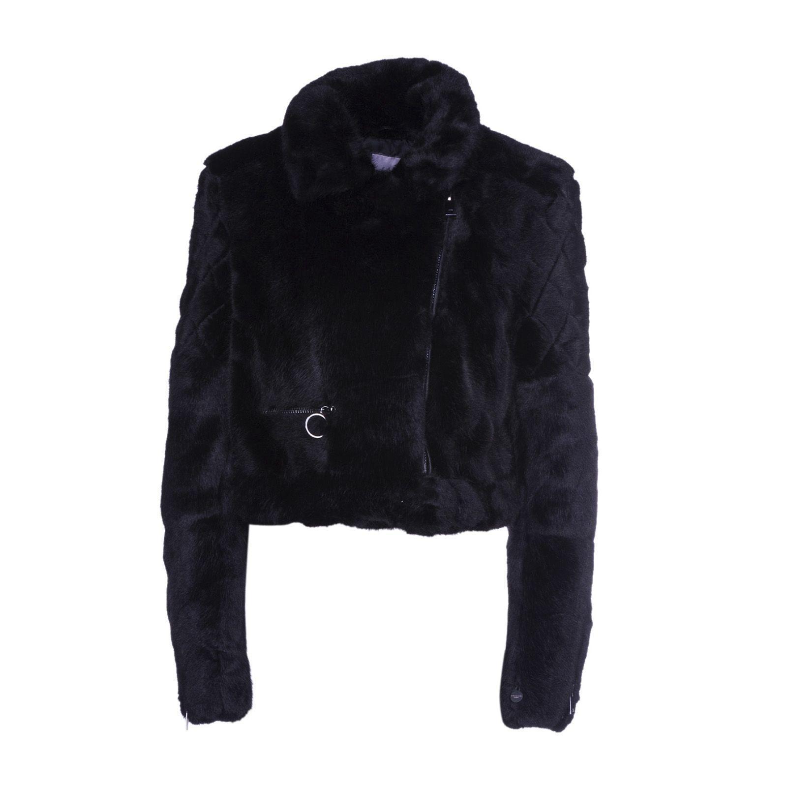 Urbancode Biker Jacket In Black