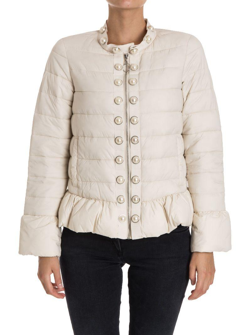Twinset Down Jacket In White