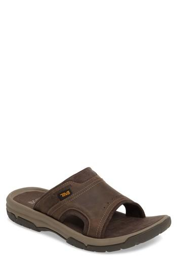 5f3814901873 Teva Langdon Slide Sandal In Walnut