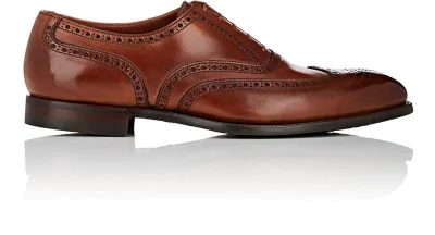 Crockett & Jones Atherstone Leather Balmorals - Brown