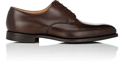 Crockett & Jones Bristol Leather Bluchers - Dk. Brown In Dk.Brown