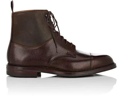 Crockett & Jones Keswick Leather Boots