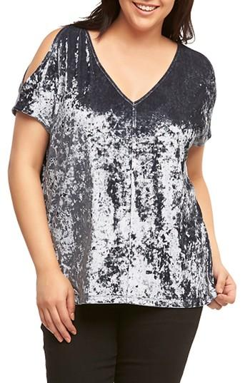 73fa57918f7195 Cold-shoulder styling enhances the breezy look of a supersoft jersey top  designed with a V-neck in an easy A-line cut. Style Name  Tart Rocky Cold  Shoulder ...