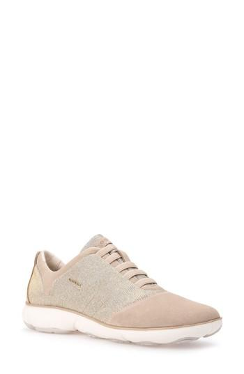 45eddd4c37 Geox Nebula Slip-On Sneaker In Taupe Fabric | ModeSens