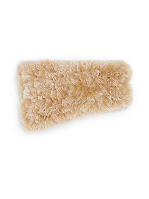 721402b070c Saks Fifth Avenue Knitted Rabbit Fur Headband In Blush