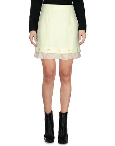 Moschino Cheap And Chic Mini Skirt In Light Green