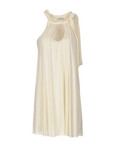 Moschino Cheap And Chic Short Dress In Ivory