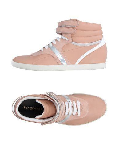 Sergio Rossi Sneakers In Skin Color