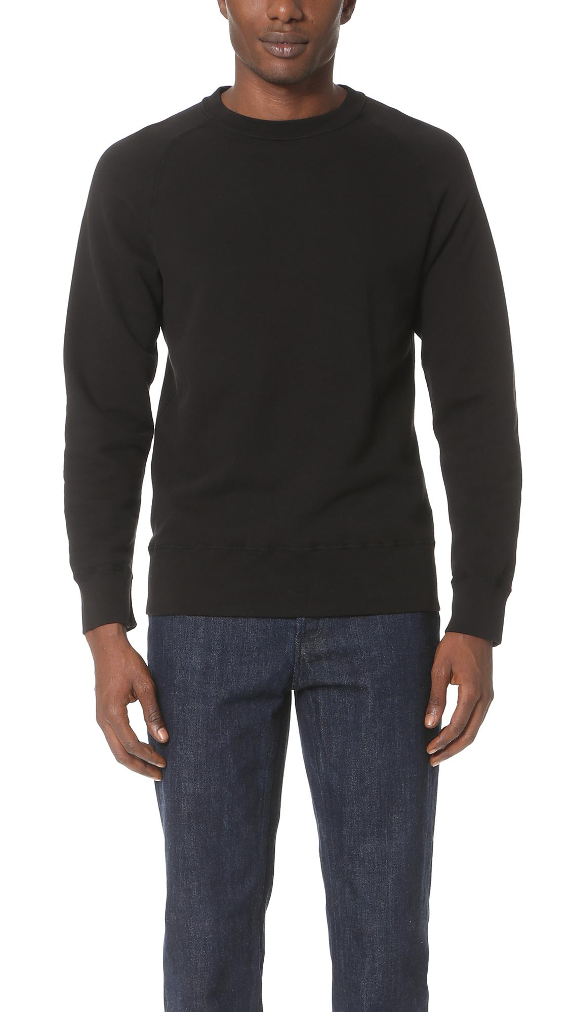 e188686260 Velva Sheen Crew Neck Sweatshirt In Heather Grey | ModeSens