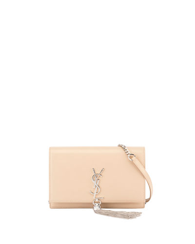 430686677e Saint Laurent Kate Monogram Ysl Tassel Wallet On Chain