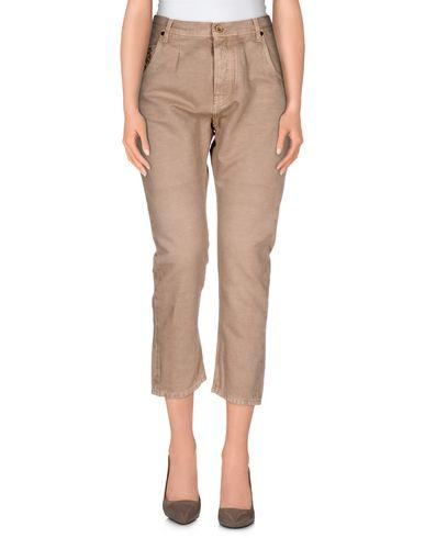 Pence Cropped Pants & Culottes In Khaki