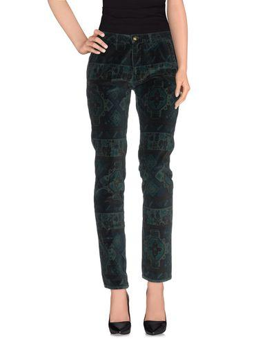 Monocrom Casual Pants In Emerald Green