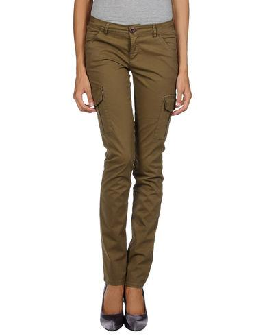 Siviglia Casual Pants In Military Green