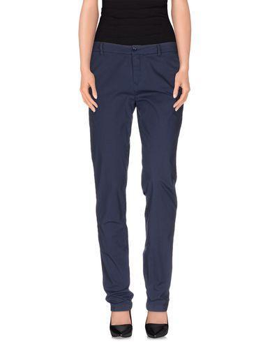 Tru Trussardi Casual Pants In Dark Blue