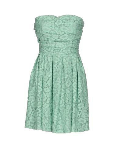 Moschino Cheap And Chic Short Dress In Green