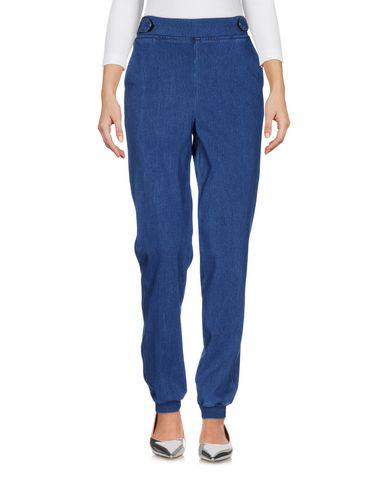 Acynetic Denim Trousers In Blue