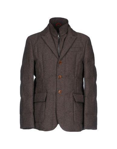 Fay Down Jacket In Dark Brown
