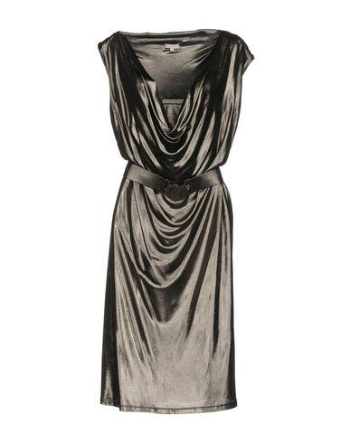 P.a.r.o.s.h. Knee-length Dress In Steel Grey