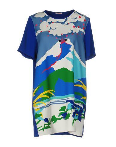 P.a.r.o.s.h. Short Dress In Blue