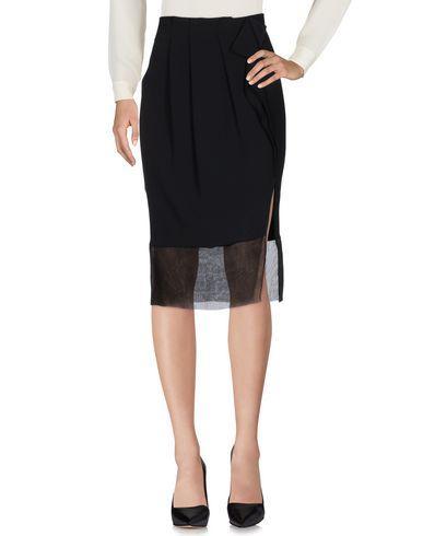 Jucca 3/4 Length Skirt In Black