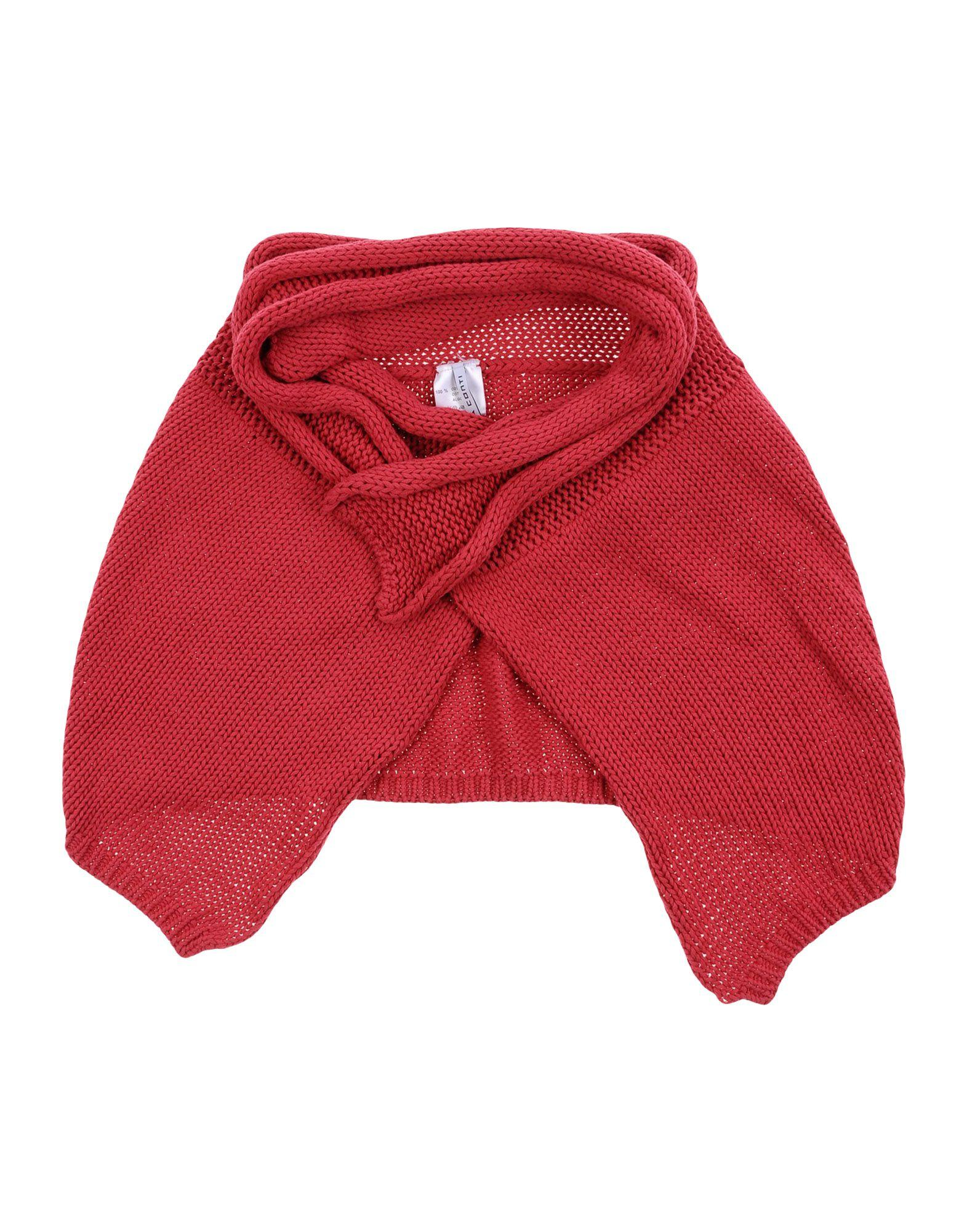 Liviana Conti Oblong Scarves In Coral