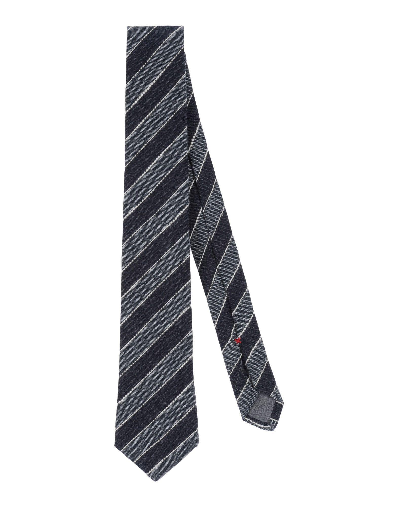 Brunello Cucinelli Tie In Steel Grey