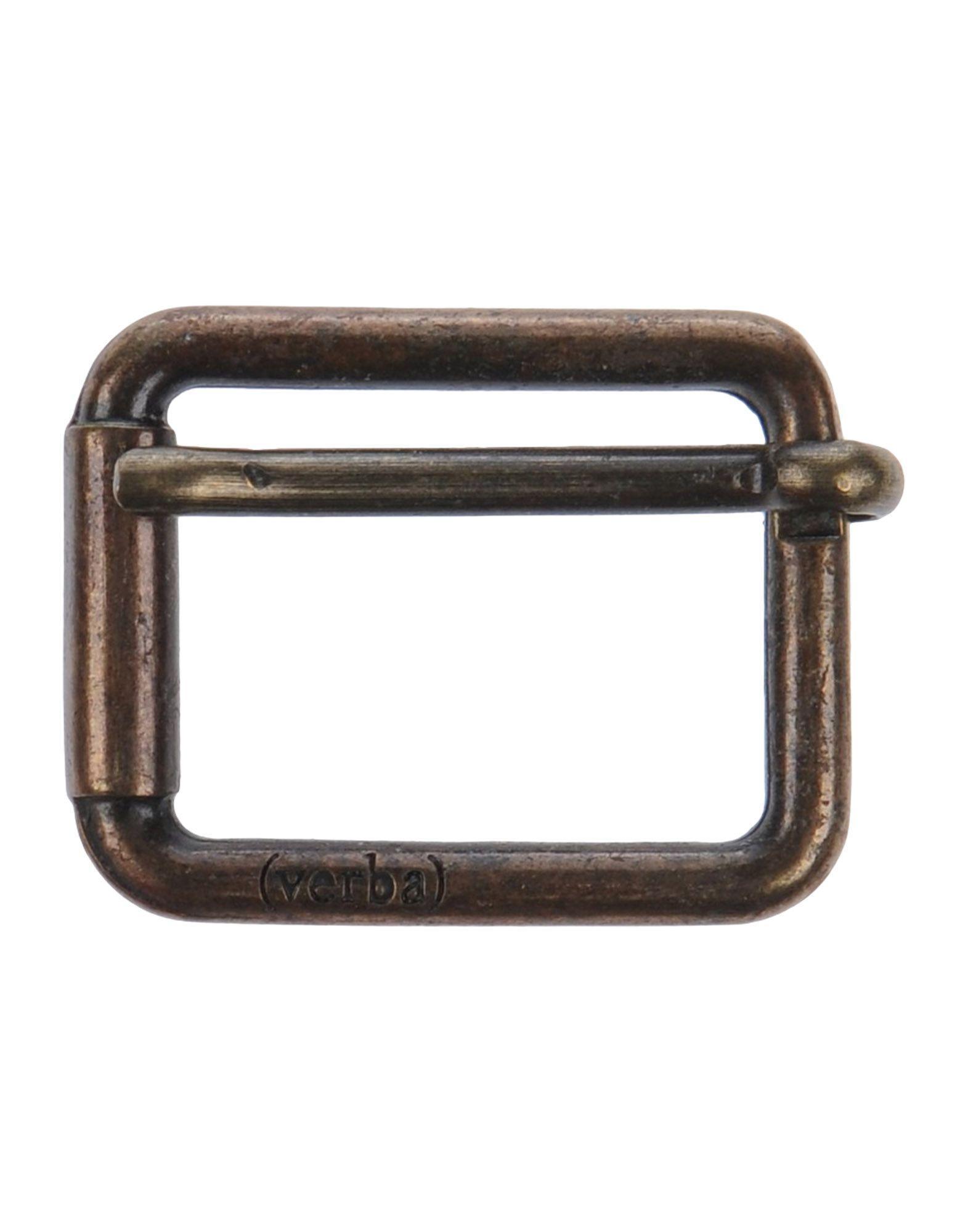 Verba (  ) Belt Buckles In Bronze