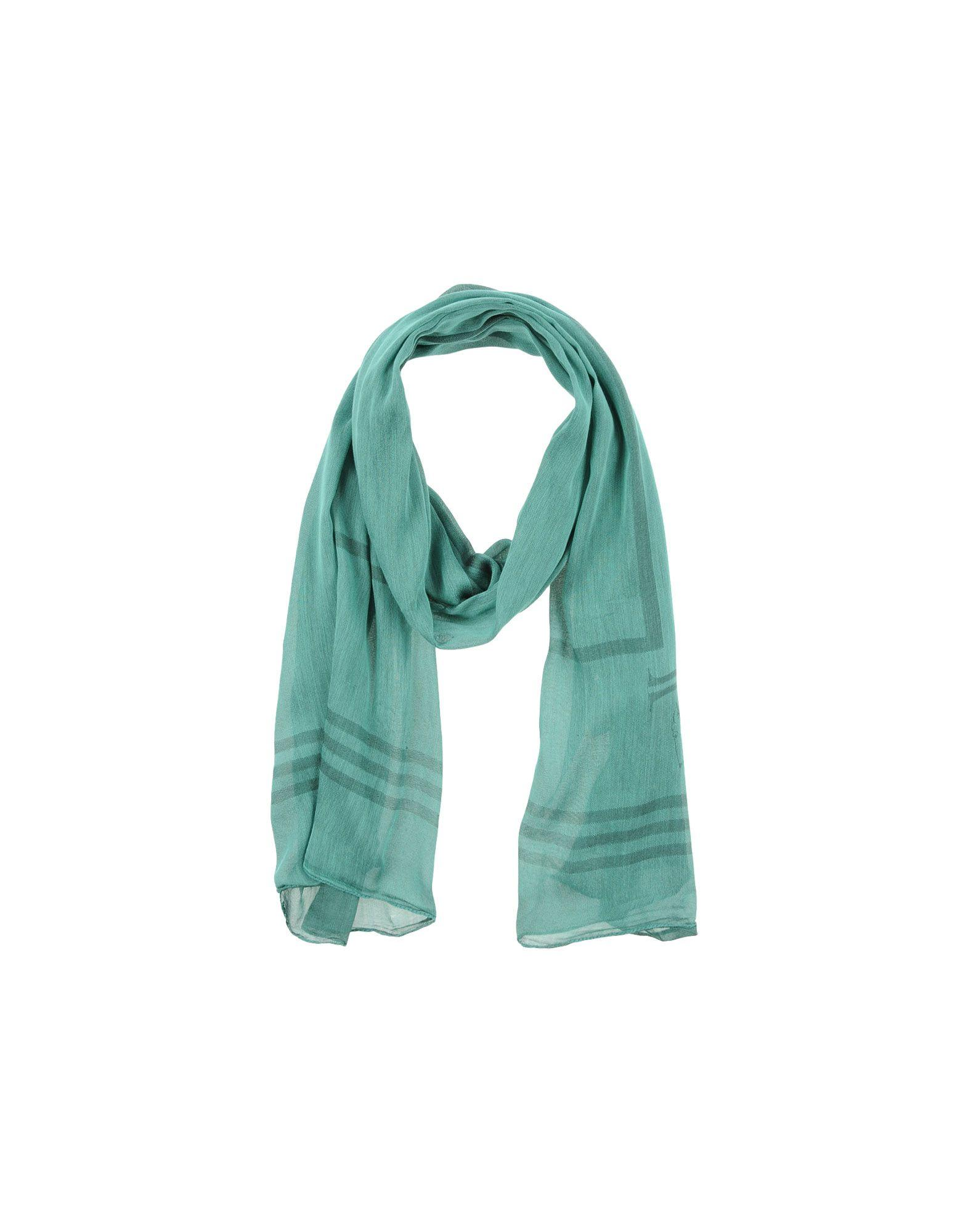 Trussardi Jeans Scarves In Turquoise