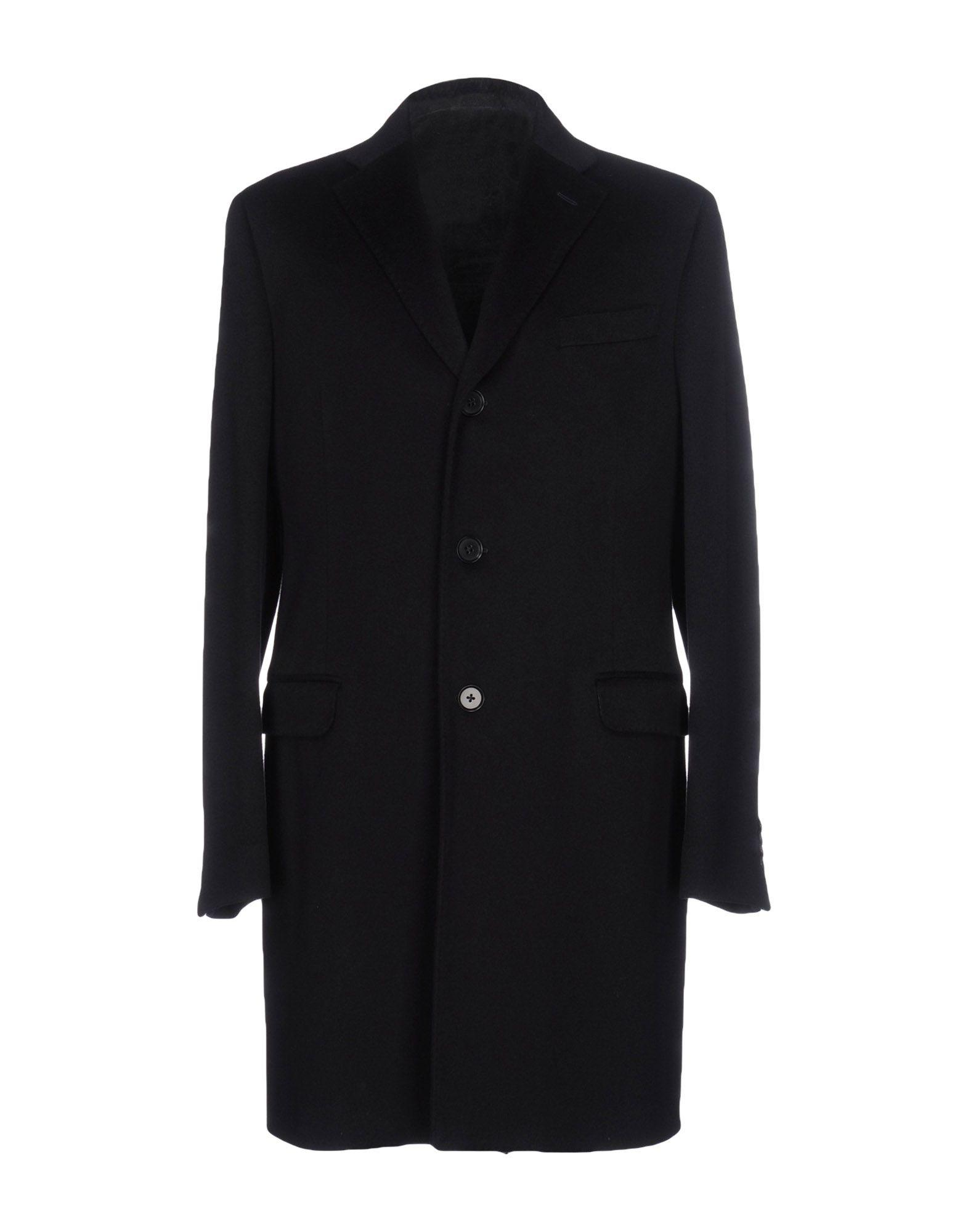 Eidos Coat In Dark Blue