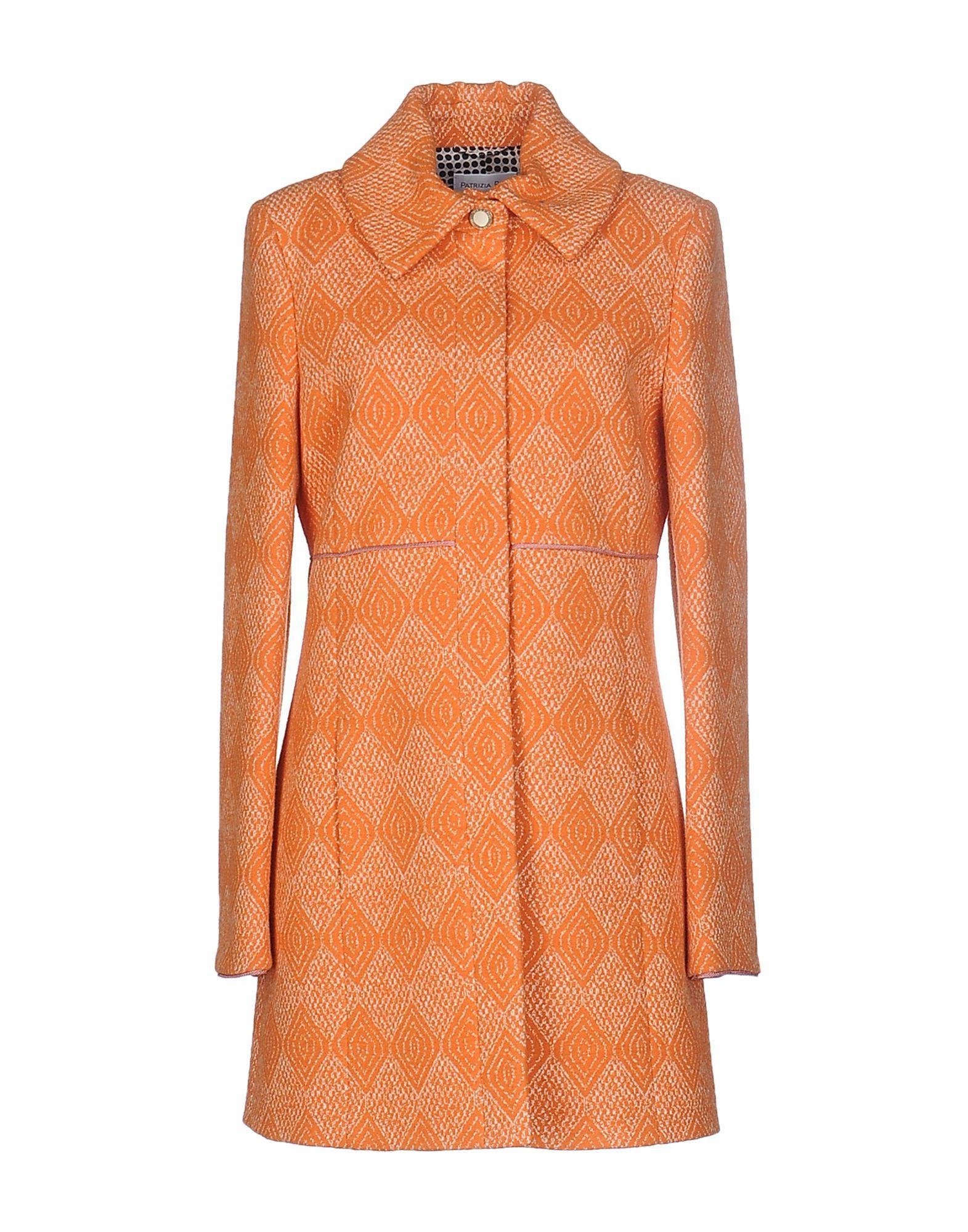 Patrizia Pepe Coats In Orange