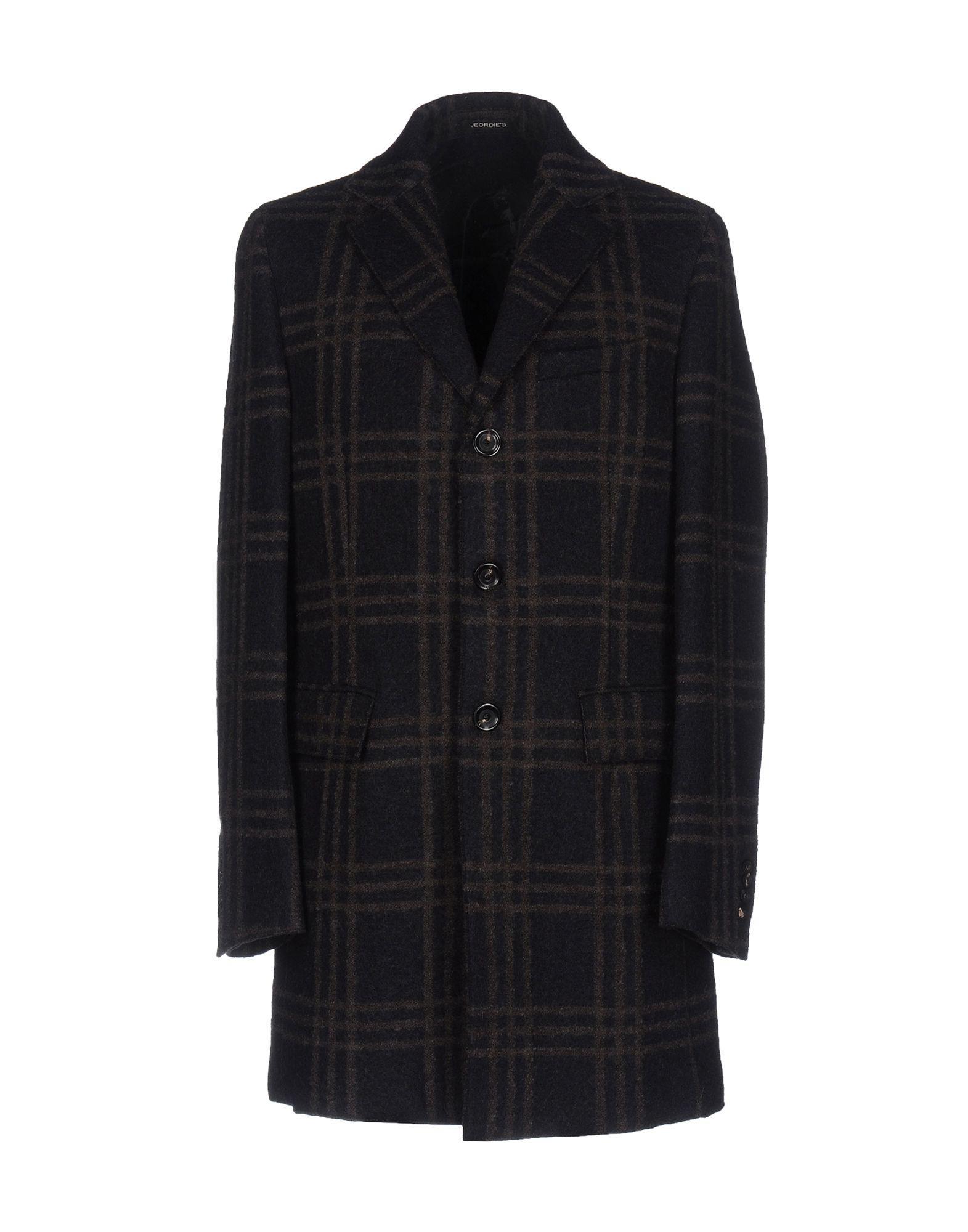 Jeordie's Coat In Dark Blue