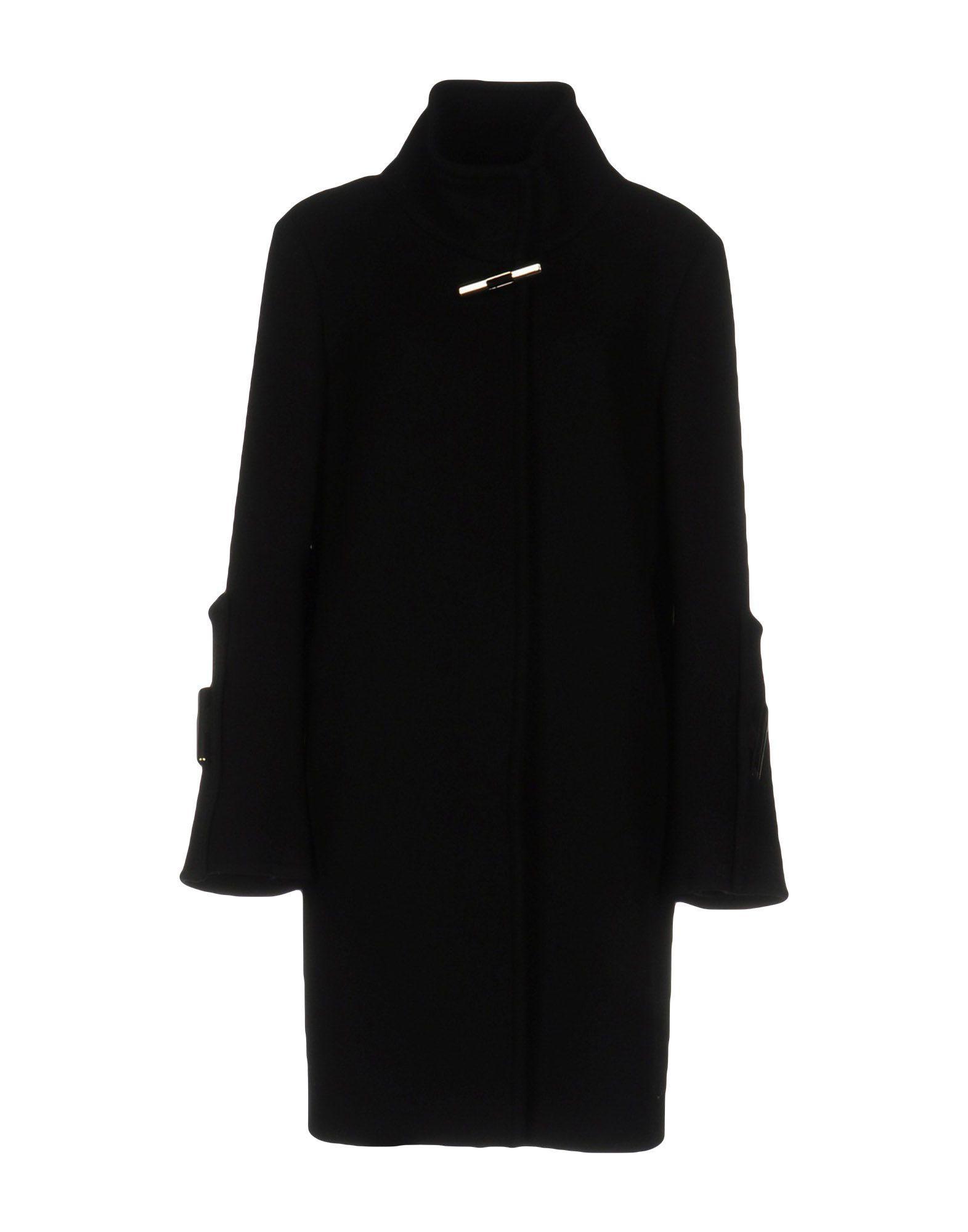 Gianluca Capannolo Coat In Black
