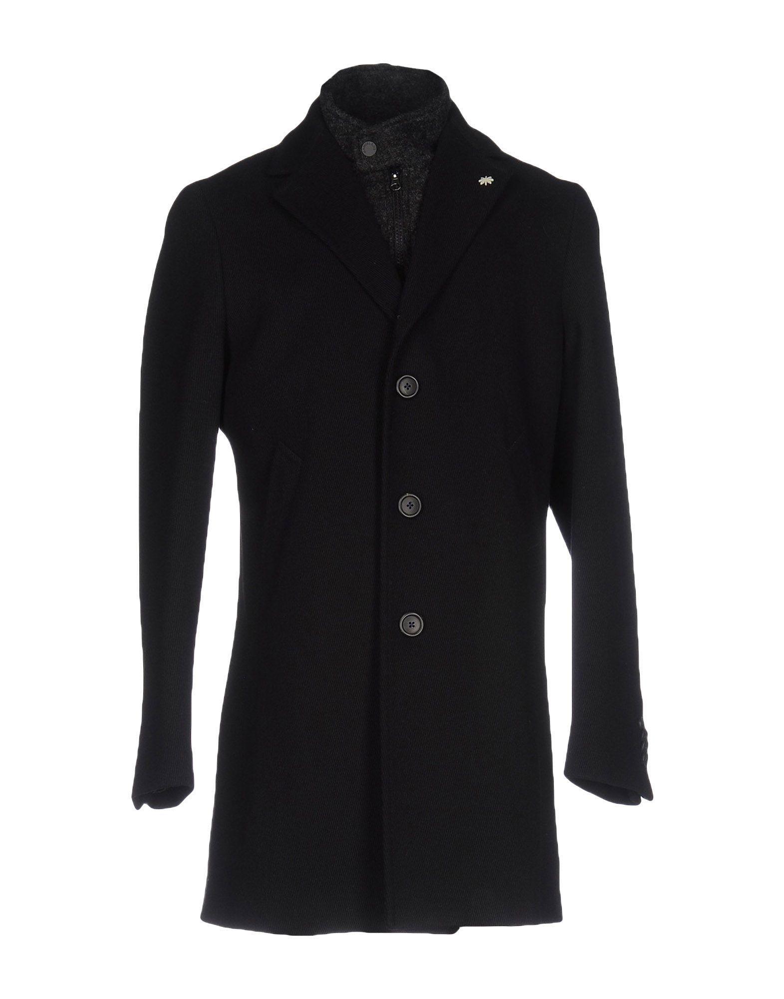 Manuel Ritz Coats In Black