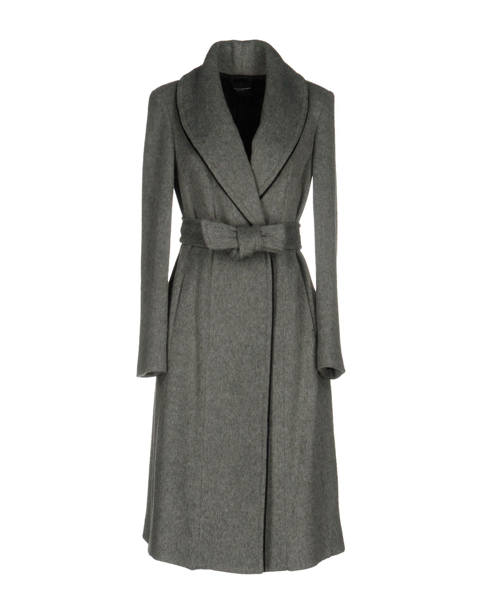Atos Lombardini Coats In Grey