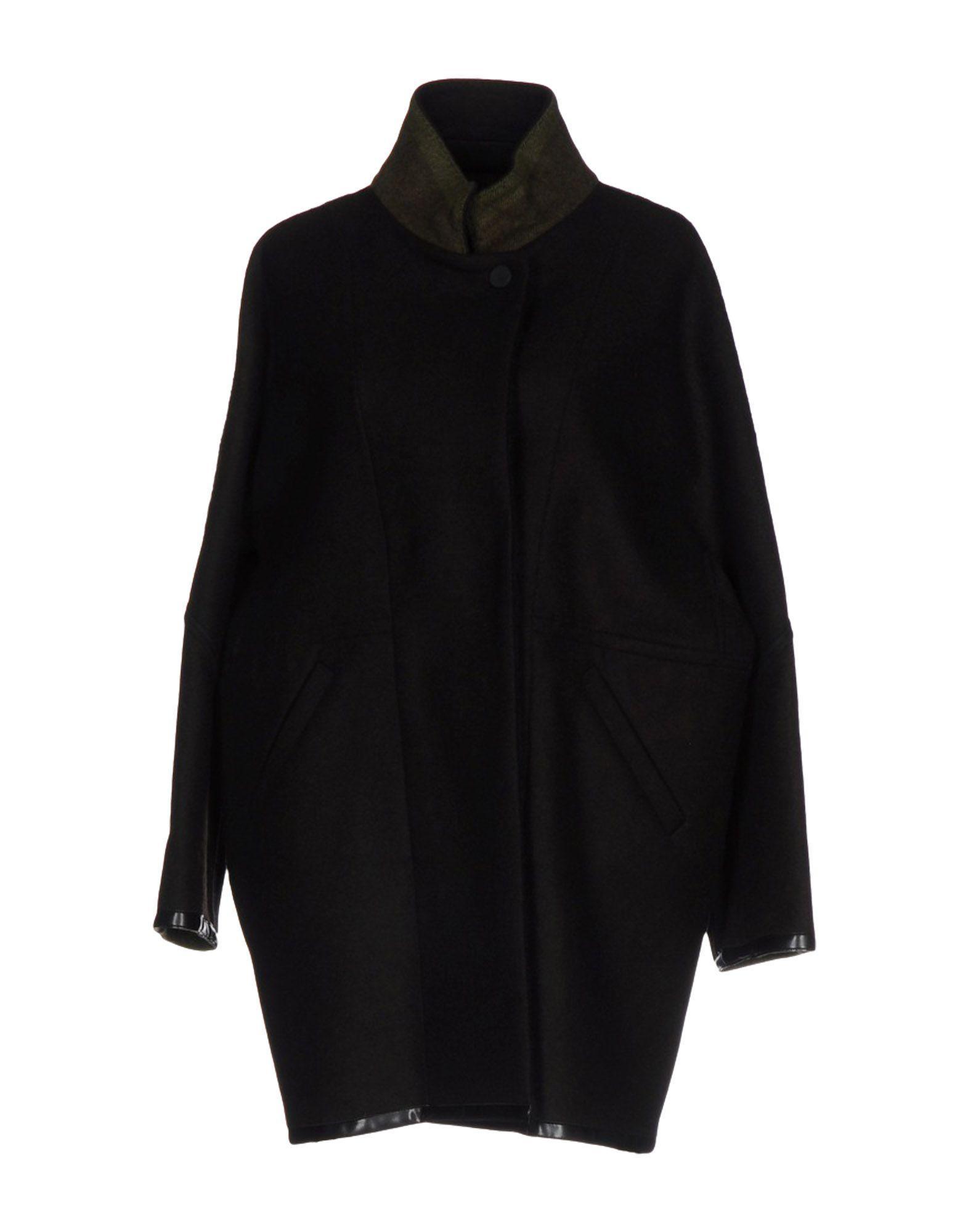 Moorer Coat In Dark Brown