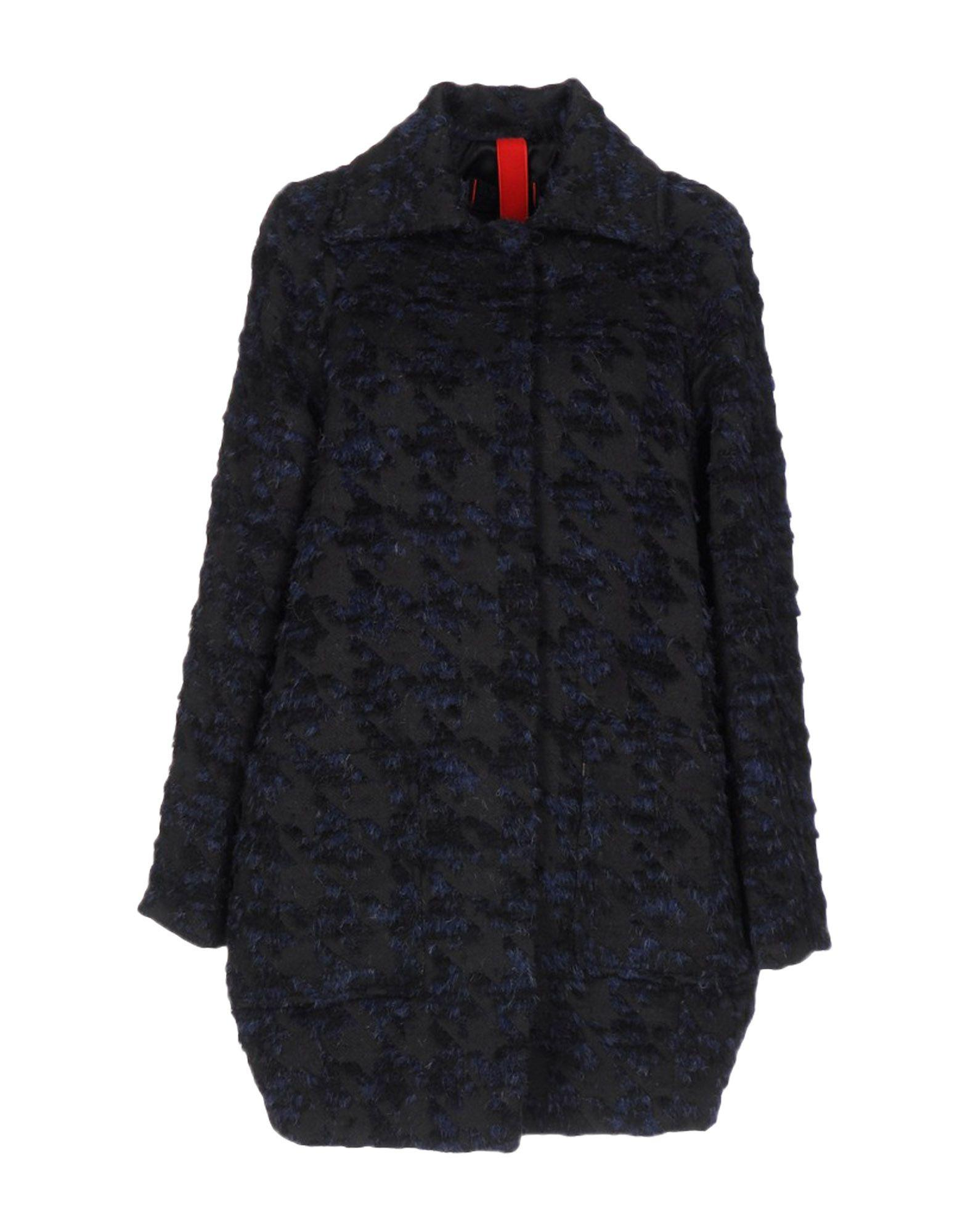 Femme By Michele Rossi Coats In Black